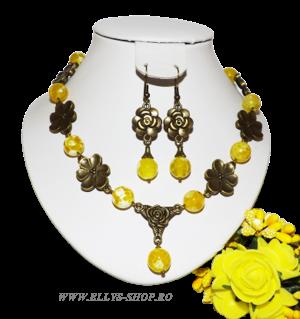 Seturi bijuterii pietre semipretioase