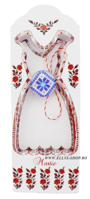 Brosa martisor traditional