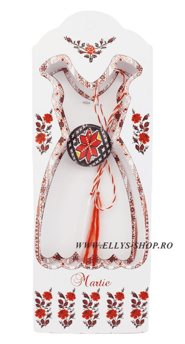 Brosa martisor motiv traditional