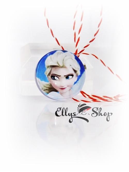 Brosa martisor pentru copii Elsa