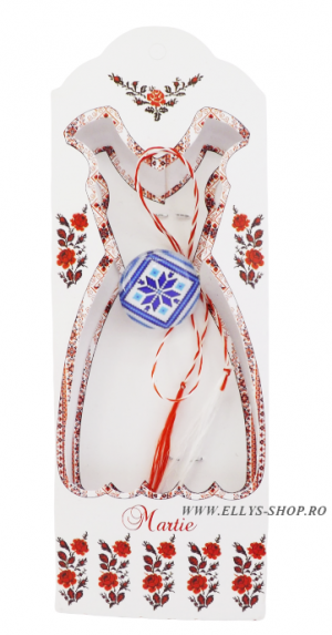 Brosa martisor traditional cod 1657