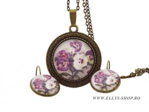 Seturi bijuterii handmade panselute