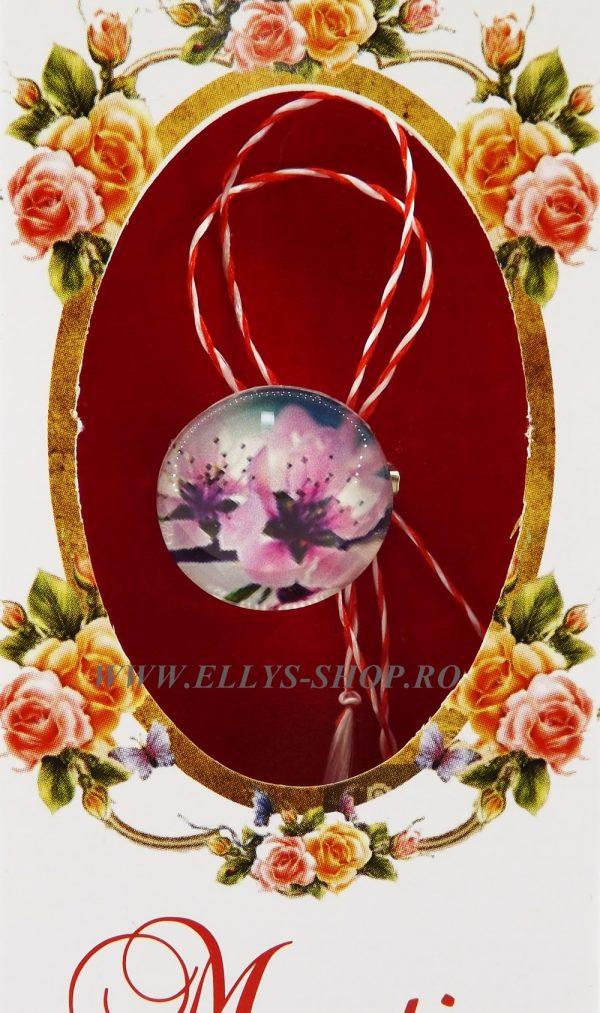 Brosa martisor flori de cires