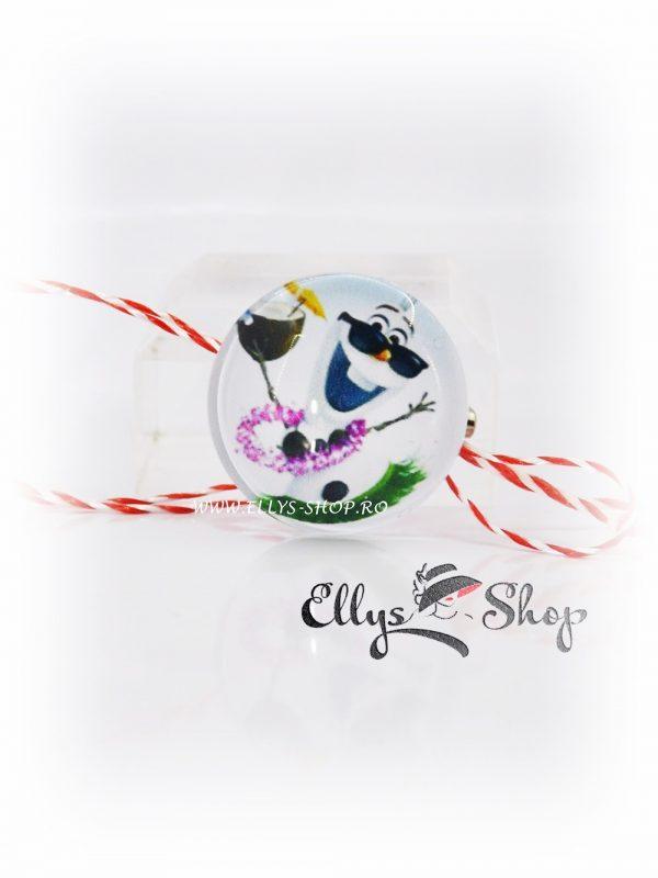 Brosa martisor pentru copii Olaf - frozen- regatul de gheata