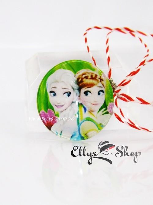 Martisoare pentru copii Elsa si Ana - Frozen cod 1411