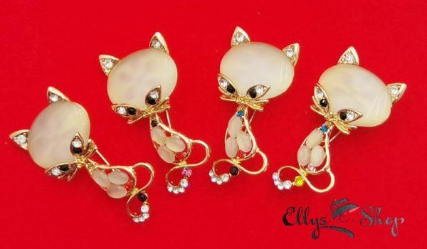 Brose martisor elegante pisici