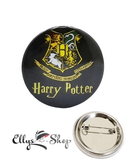 Insigna Harry Potter - Case Hogwarts Gryffindor, Hufflepuff, Ravenclaw si Slytherin