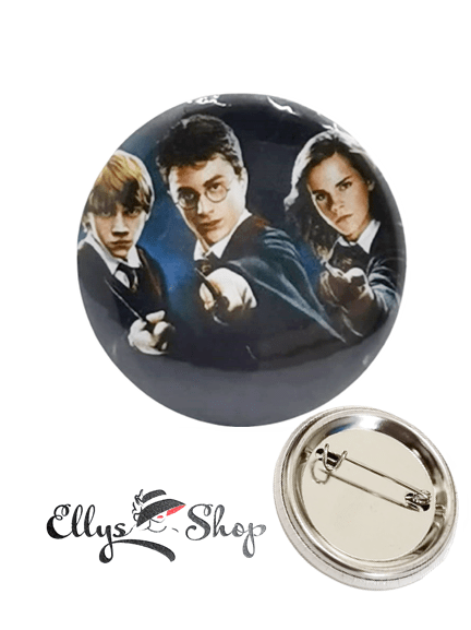 Insigna Harry Potter, Germione, Ron