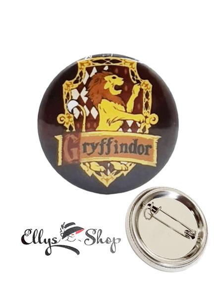 Insigna Harry Potter casa Gryffindor