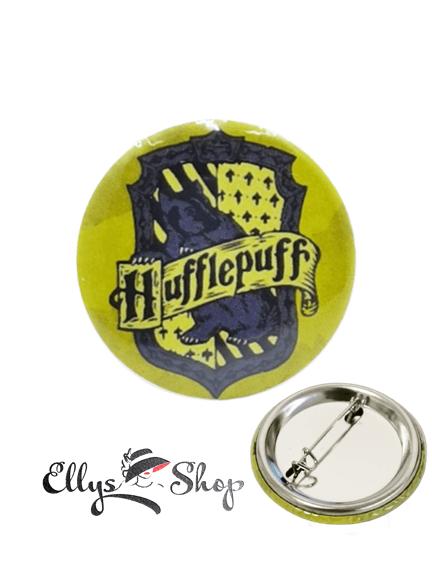 Insigna Harry Potter casa Hufflepuff