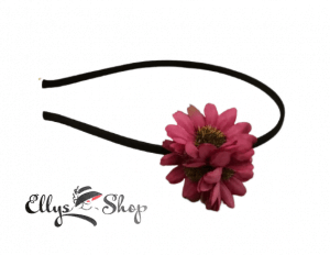 Bentita cu flori grena cod 4286