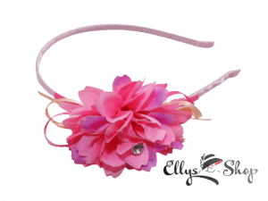 Cordeluta par cu floare roz si mov