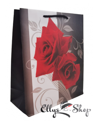 Punga cadou cu trandafiri rosii cod 4225