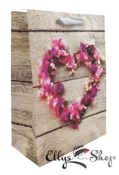 Punga pentru cadou cu flori de camp cod 4210