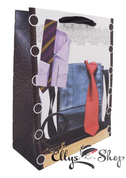 Sacosa cadou cod 4181 model cu cravata