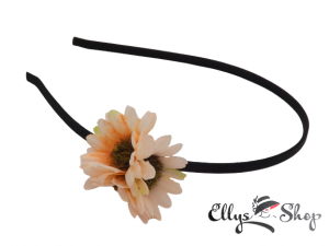 Bentita cu trei flori corai
